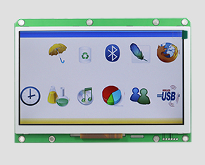 TFT液晶-7寸彩屏(串口屏)