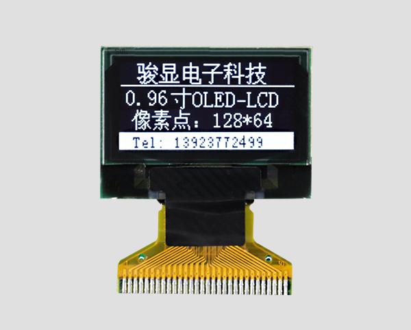 OLED液晶-JM-O12806401NGNSN-A0(0.96寸)