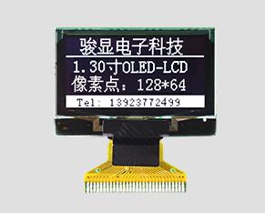 OLED液晶-JM-O12806402NGNSN-A0(1.30寸)