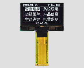OLED液晶-JM-O12806403NGNSN-A0(1.54寸)