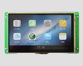 TFT液晶-7寸普清高亮-智能HMI(带触摸屏)