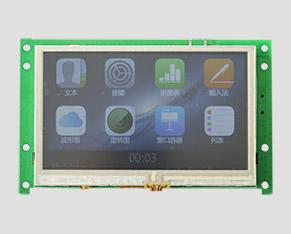 TFT液晶-4.3寸普清普亮-智能HMI(带触摸屏)