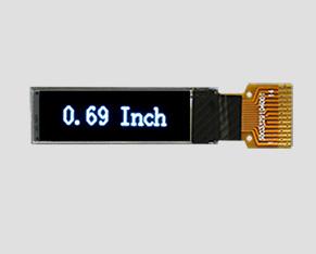OLED液晶-JM-PO119-OL9616NIN0069(0.69寸)