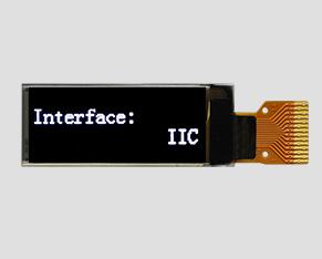 OLED液晶-JM-PO117-OL12832NIN0091(0.91寸)