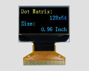 OLED液晶-JM-PO124-OL12864NIN0096(0.96寸)